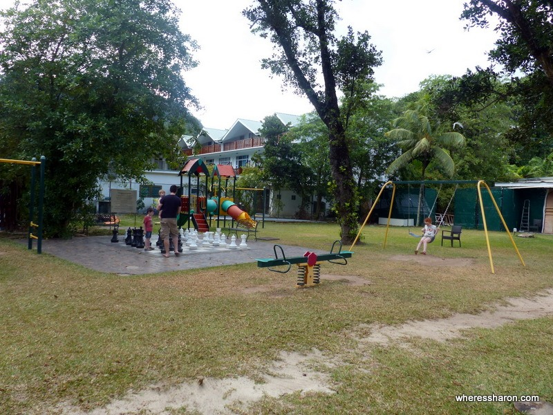 Berjaya Beau Vallon Bay Resort Review playground