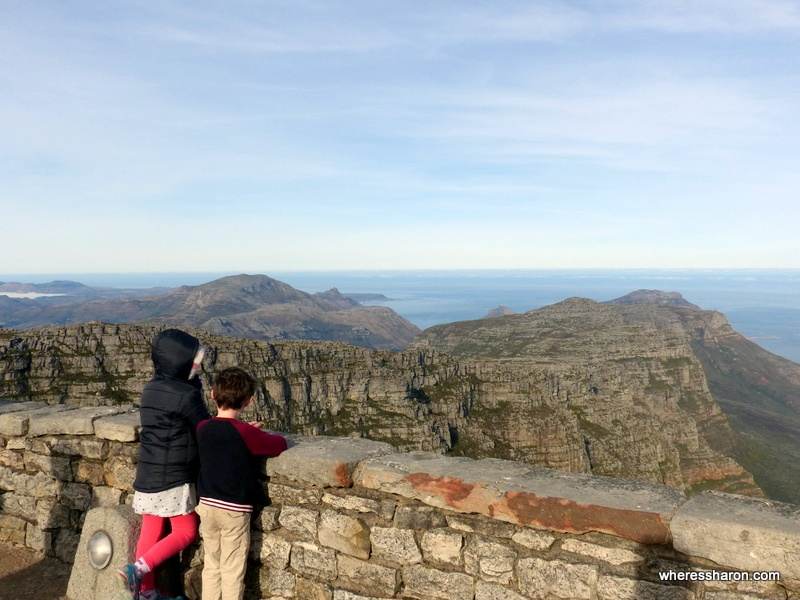 kid friendly things to do in cape town table mountain