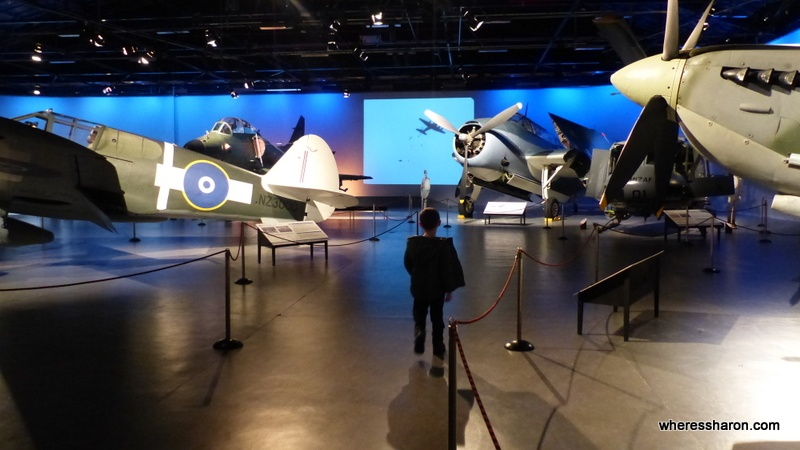 attractions in christchurch at the Air Force Museum