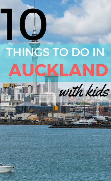a list of Auckland things to do